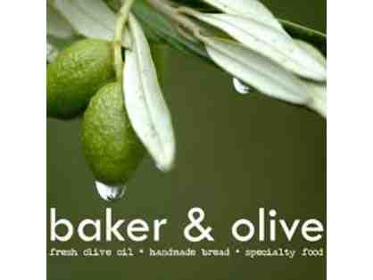 Baker & Olive Gift Box - Olive Oils and Gift Card