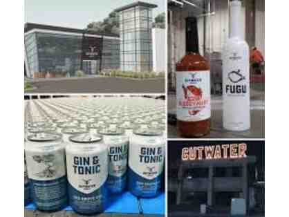 Cutwater Spirits - Gift Basket of Asstd. Spirits & Canned Cocktails and Tasting Tour for 4