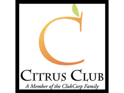 Dinner for Two at the Citrus Club