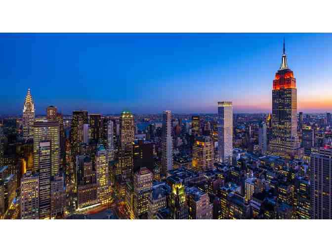 NYC Weekend Getaway: Hotel, Airfare, and Fine Dining