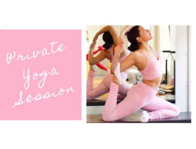 1 Hour Private Yoga Class