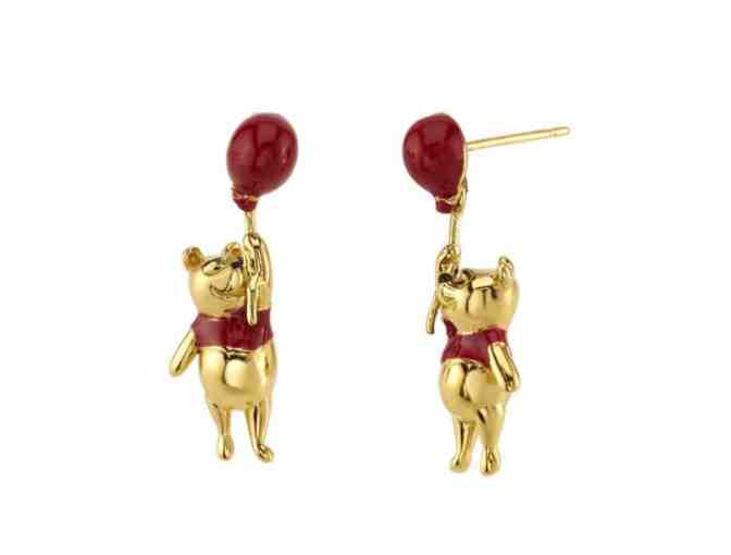 Disney's Christopher Robin Winnie the Pooh Swinging Earrings - Photo 1