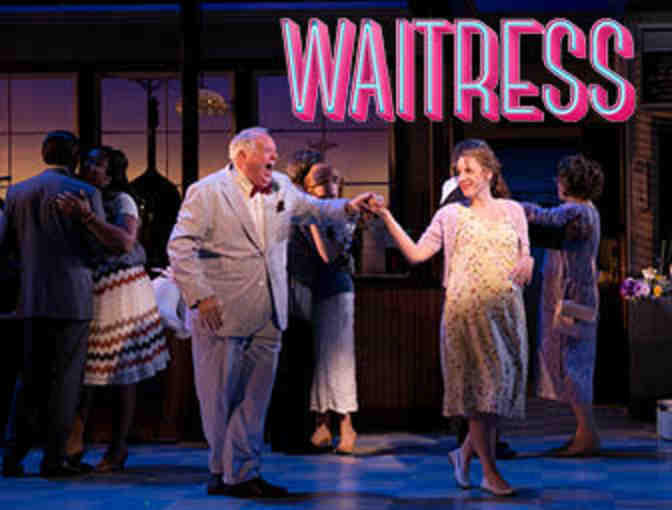 """Waitress"" on Broadway and meet Dakin Matthews backstage! - Photo 1"
