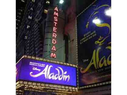 Aladdin Live on Broadway VIP Experience with Backstage Tour