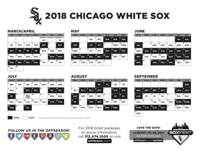 2018 Chicago White Sox Tickets - Photo 4