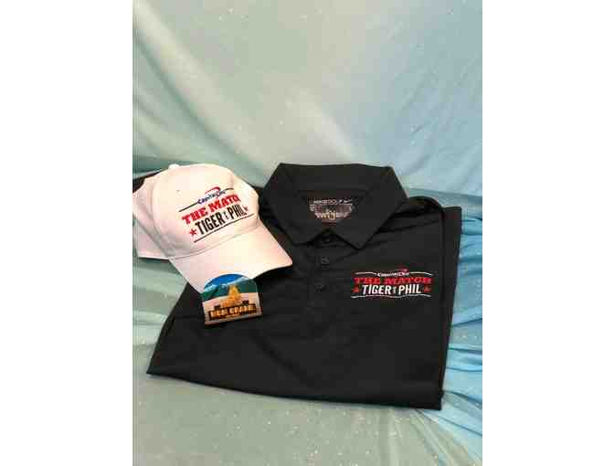 Golf Gear- Tiger Woods v. Phil Mickelson Hat & Polo