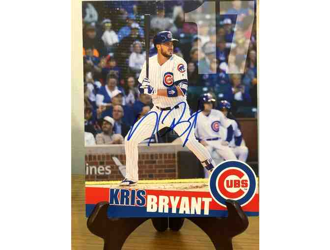 Kris Bryant #17 Autographed Photo