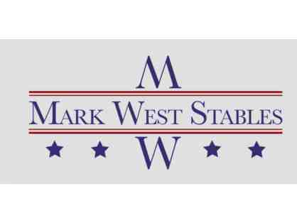Mark West Stables - 3 English Riding Lessons