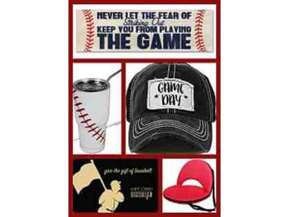 Baseball Mama (or Papa) Class Basket