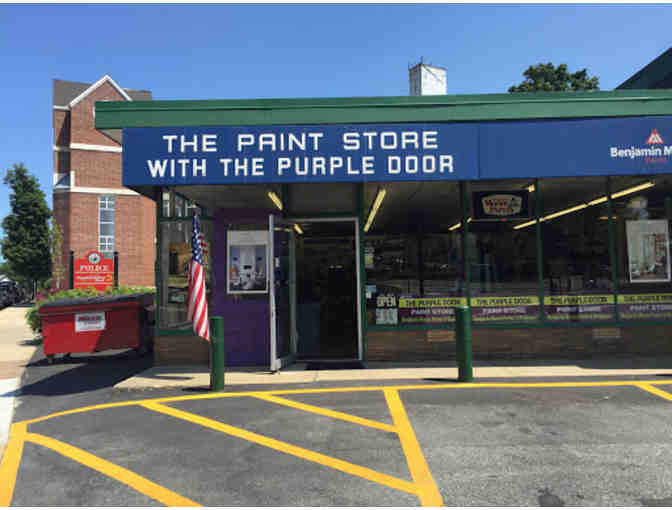 $30 Gift Certificate to the Paint Store with the Purple Door