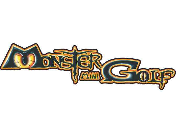 4 Monster Mini Golf Passes