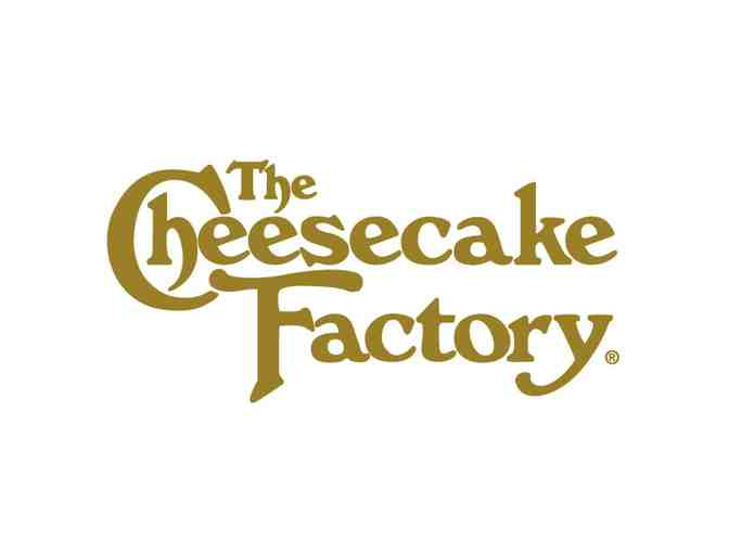 $25 Gift Certificate to Cheesecake Factory