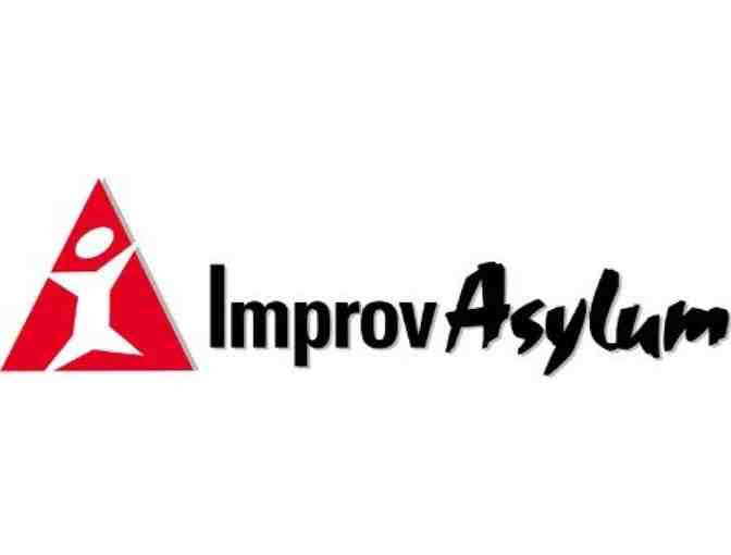 4 Tickets to Improv Asylum