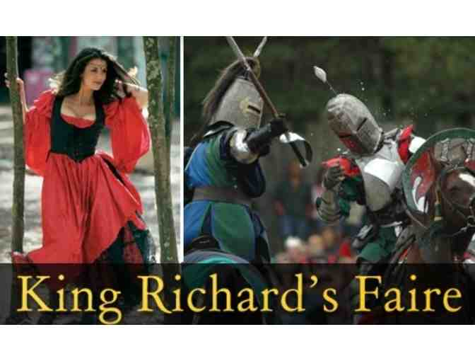 Family Four Pack to King Richard's Faire