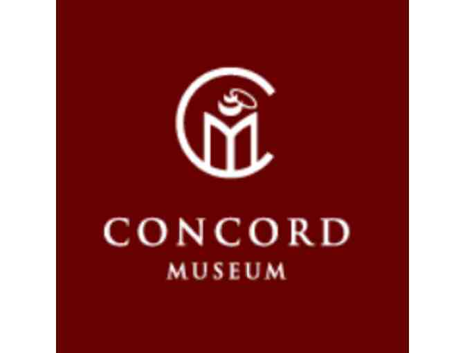 4 Admission Passes to Concord Museum