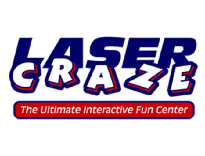 Laser Tag or Adrenaline Zone for Five People