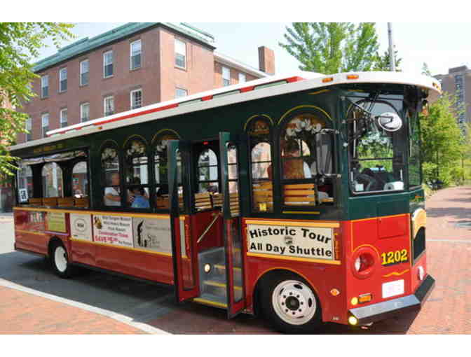 Trolley Ride for Family of Four