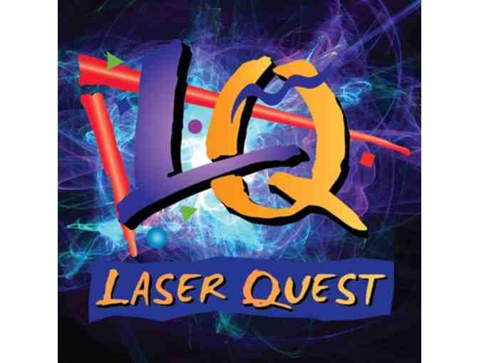 4 Regular Games at Laser Quest