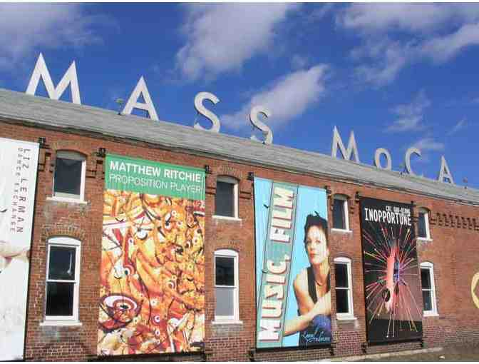 Admission for Two to MASS MoCA