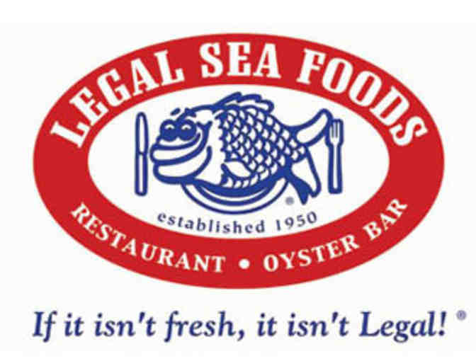$25 Legal Sea Foods Gift Certificate