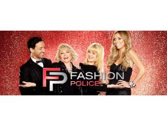 2 Tickets FOR FASHION POLICE and Photo Opportunity with JOAN RIVERS