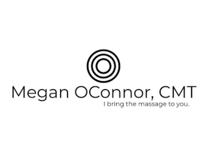 1 hour, in-home, custom massage treatment, Megan OConnor, CMT $120 - Photo 1