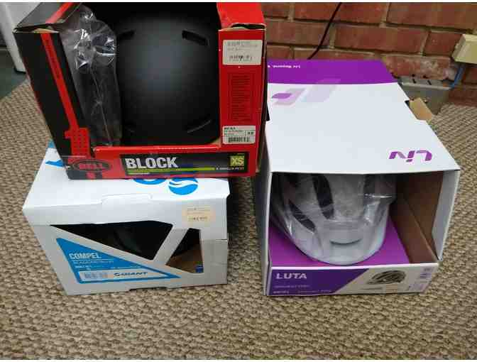 3 Bike Helmets from Latitude 45 - Photo 1