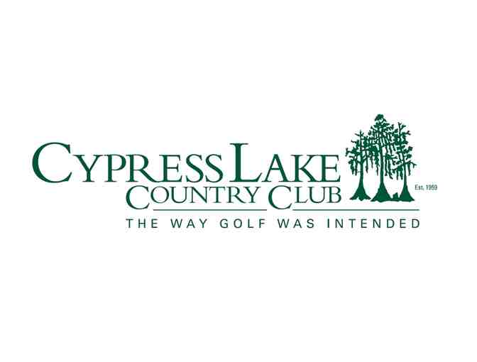 Cypress Lake Country Club - One foursome with carts