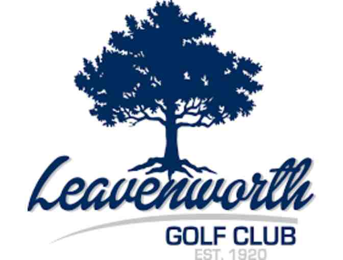 Leavenworth Country Club - One foursome with carts