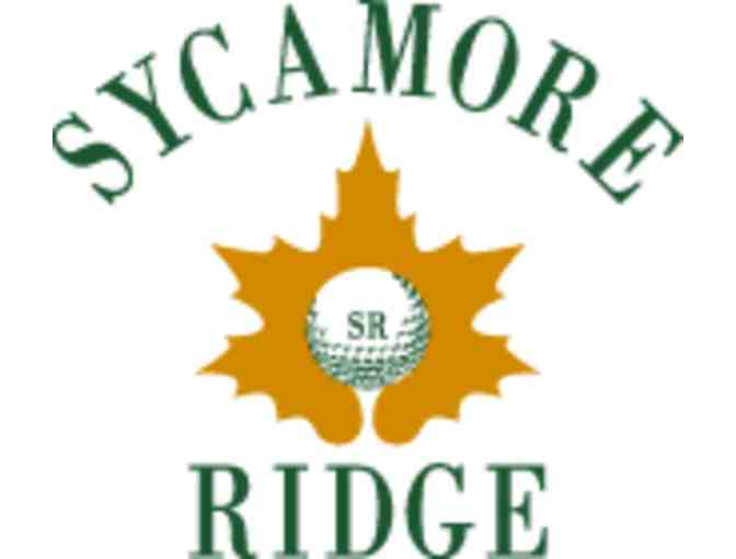 Sycamore Ridge Golf Club - One foursome with carts