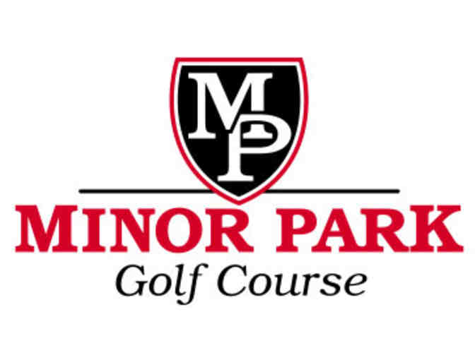 Minor Park Golf Course - One foursome with carts