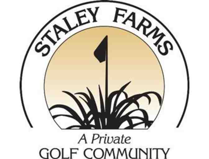 Staley Farms Golf Club - One foursome with carts