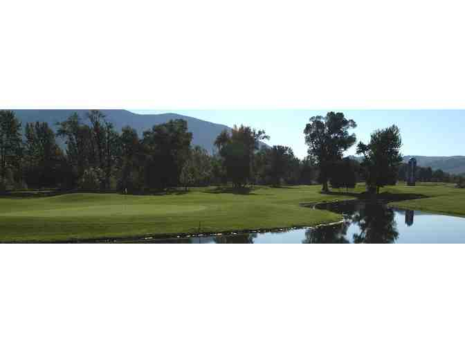 Bridger Creek Golf Course - One twosome with cart