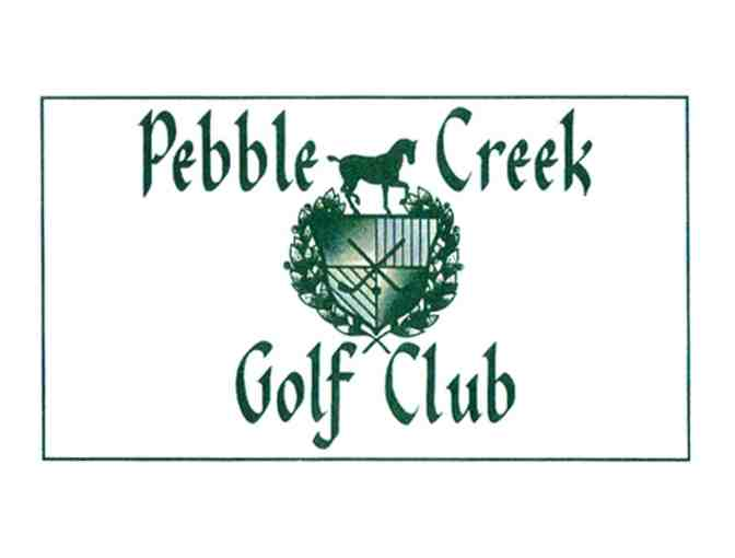 Pebble Creek Golf Club - One foursome with carts