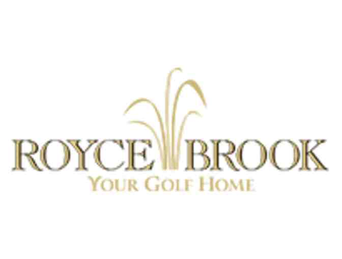 Royce Brook Golf Club - One foursome with golf carts