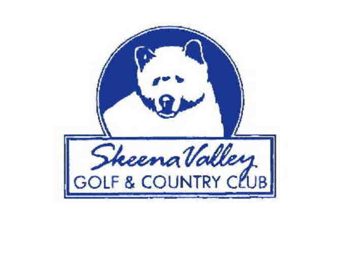 Skeena Valley Golf Club - One foursome with carts