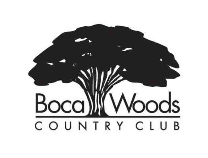 Boca Woods Country Club - One foursome with carts