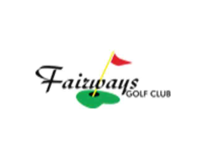 Fairways Golf Club - One foursome with carts