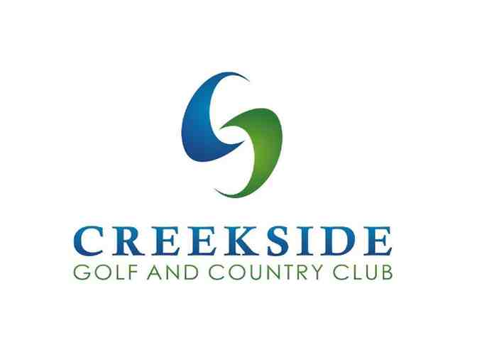Creekside Golf & Country Club - One foursome with carts
