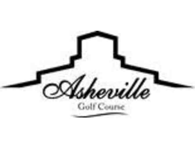 Asheville Golf Course - One foursome with carts