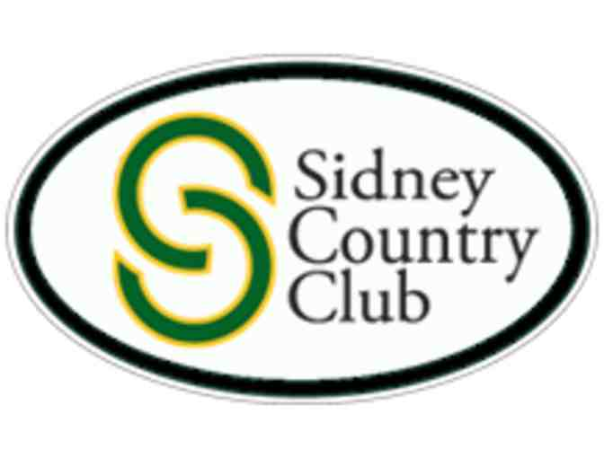 Sidney Country Club - One twosome