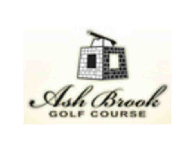 Ash Brook Golf Course - One foursome with carts