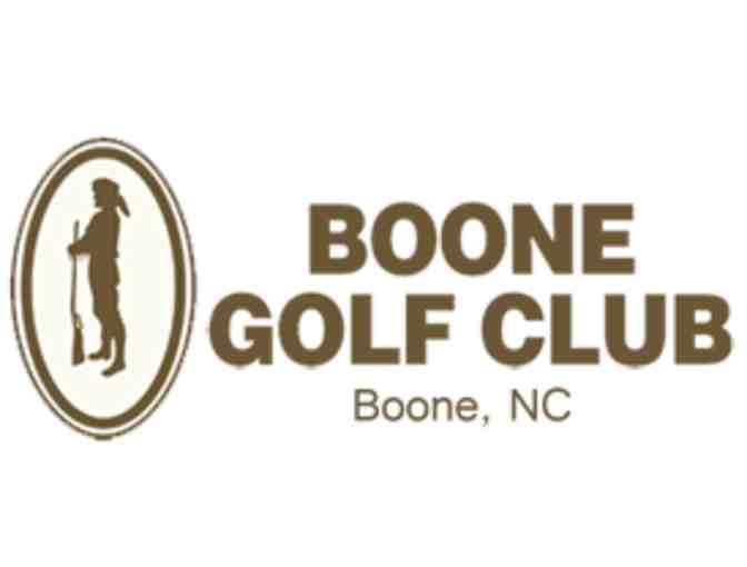 Boone Golf Club - One foursome