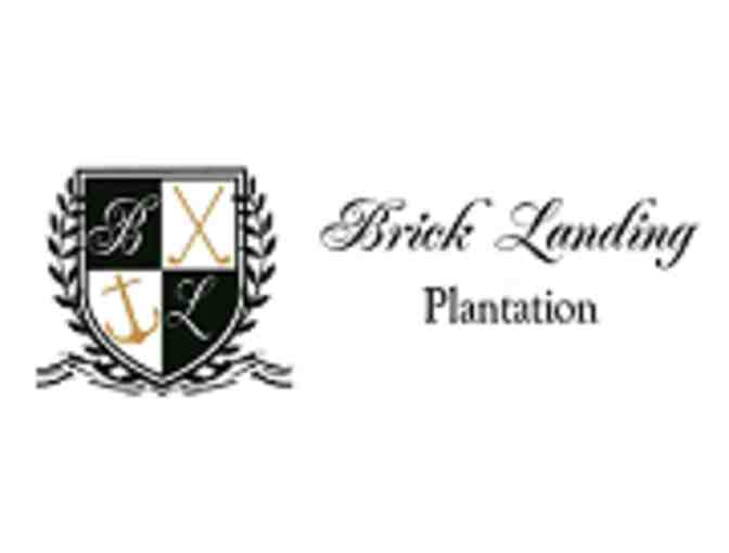 Brick Landing  Golf Club - A foursome with carts