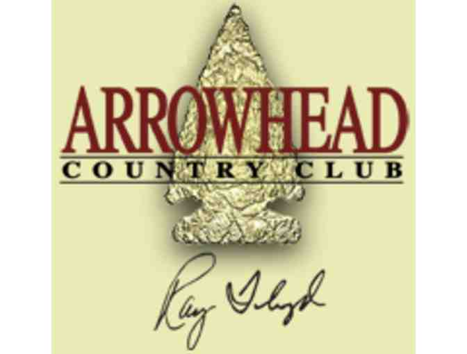 Arrowhead Country Club - One foursome with carts