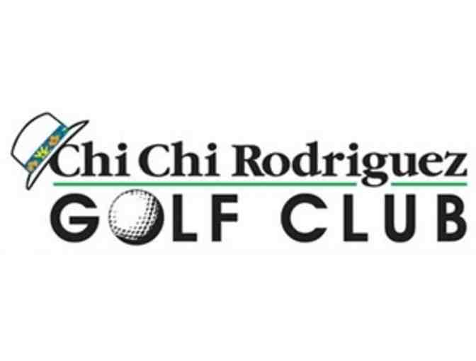 Chi Chi Rodriguez Golf Club - One foursome with carts