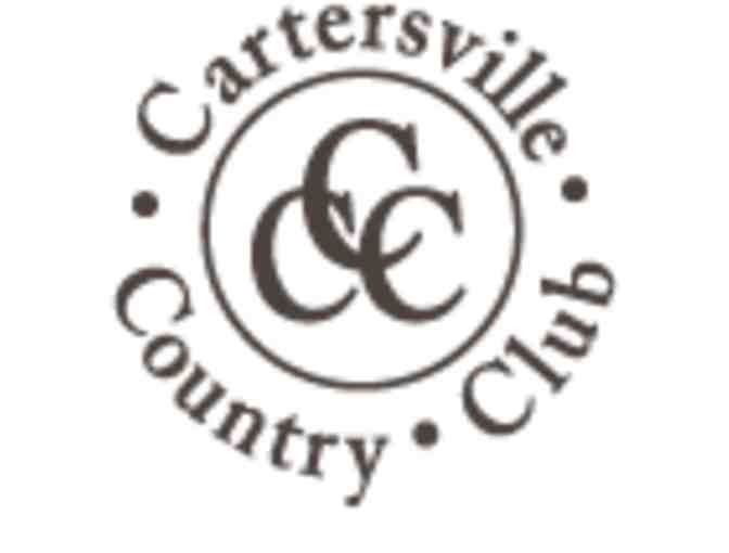 Cartersville Country Club - One foursome with carts
