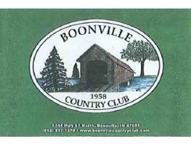Boonville Country Club - One foursome with carts