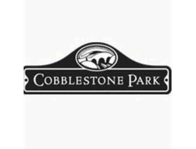 Cobblestone Park Golf Club - One foursome with carts
