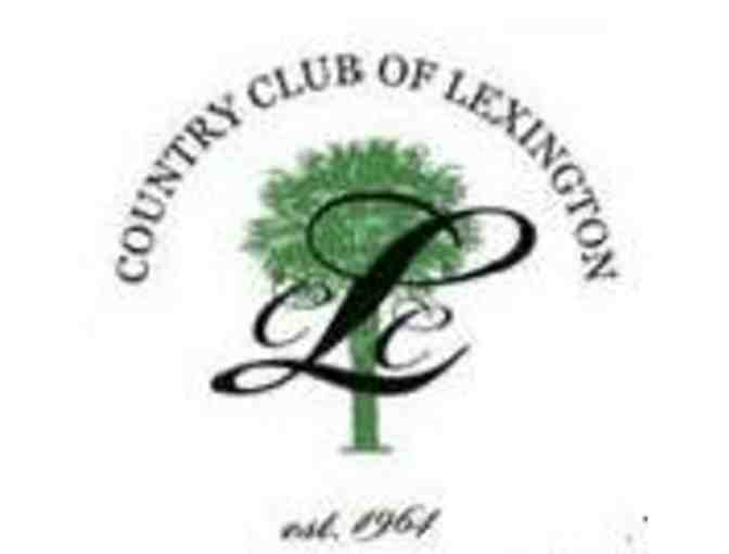 Country Club of Lexington - One foursome with carts
